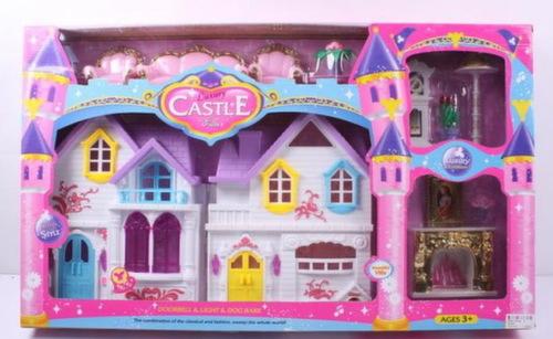 Дом для куклы с камином wd-801