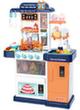Кухня «НИКА» с водой, паром и большим холодильником