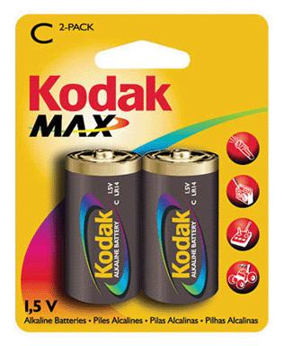 Батарейки C (LR14) Alkaline