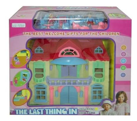 Кукольный домик 8861