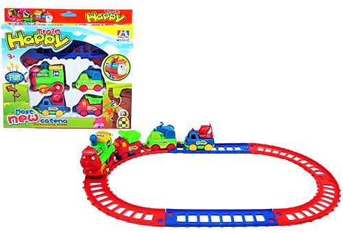 """Игровая железная дорога """"Happy Train"""""""