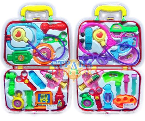 Набор доктора в двойном чемоданчике