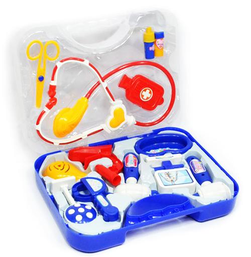 """Набор доктора в цветном чемоданчике """"Doctor set"""""""