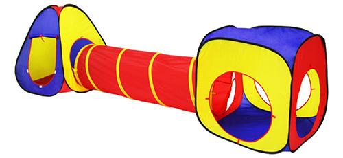 Детская палатка с туннелем