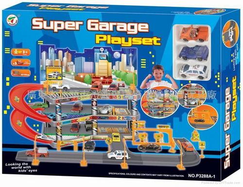 Паркинг игрушечный Super Garage