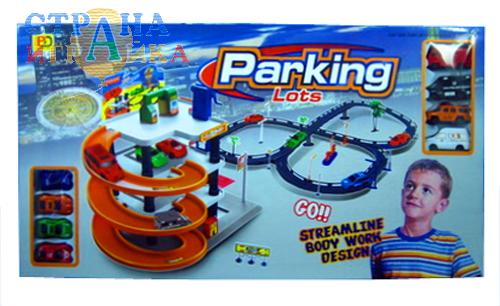 Игрушечная парковка 5513-62