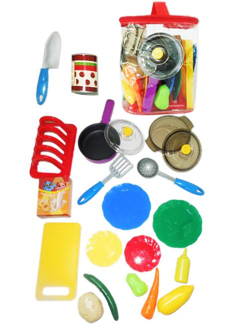 """Набор посуды и продуктов """"FUNNY KitchenSet - 12b"""""""
