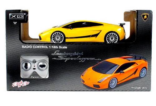 """Радиоуправляемая машина """"Lamborgini Gallardo"""" XQRC18-5"""