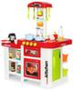 Кухня МОДЕРН-2 с водой, столиком и холодильником (красная)