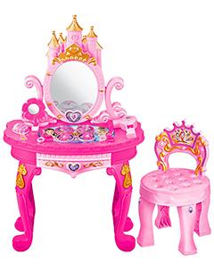 Высокое трюмо ПРИНЦЕССА с королевским стульчиком