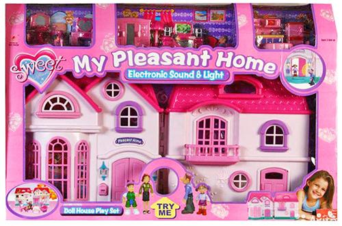 """Большой домик для кукол """"Уютный дом"""""""
