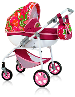 Кукольная коляска-люлька «ЛЮКС-Comfort»