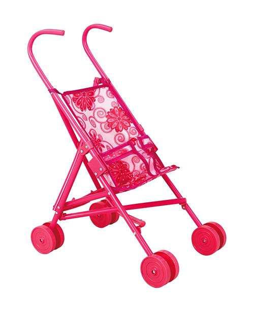 Кукольная коляска-трость (пластик)