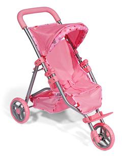 Прогулочная коляска с откидной подножкой