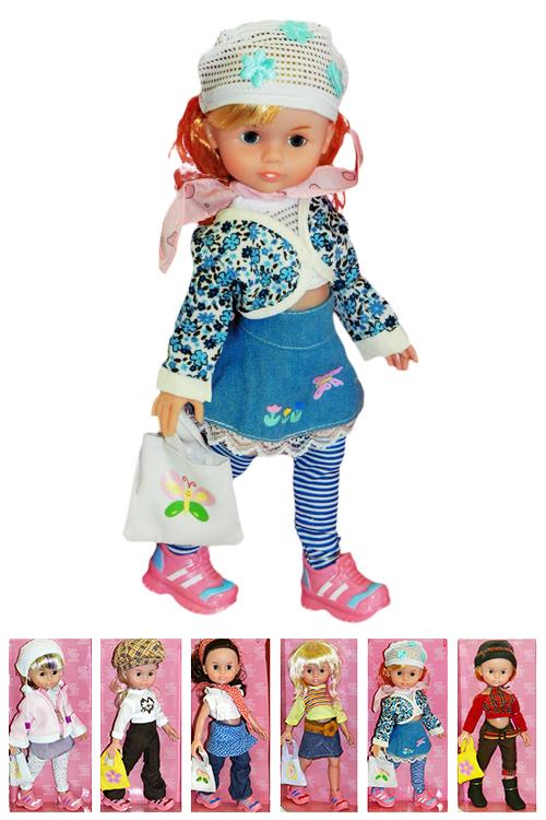 Кукла Алина-модница в стильных одеждах