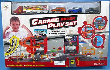 Игрушечный гараж